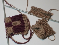 double knit swatches
