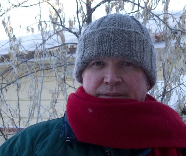 Tweed hat front